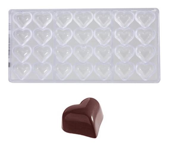 Molde Bombones Policarbonato Chocolate World Cw1526 8,6gr