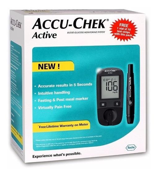 Glucómetro Accu Check Instant