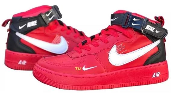 Tênis Bota Nike Air Force Tm Masc/feminino Frete Grátis