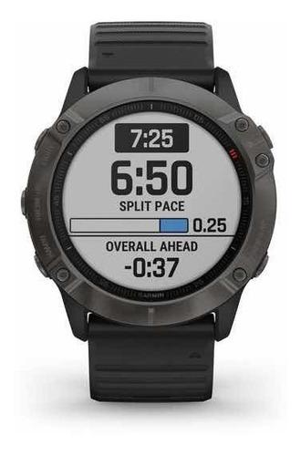 Relógio Garmin Fenix 6x Pro Sapphire Carbon Gray (lacrado)