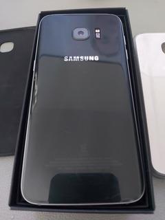 Celular Samsung S7 Edge - Preto - Usado