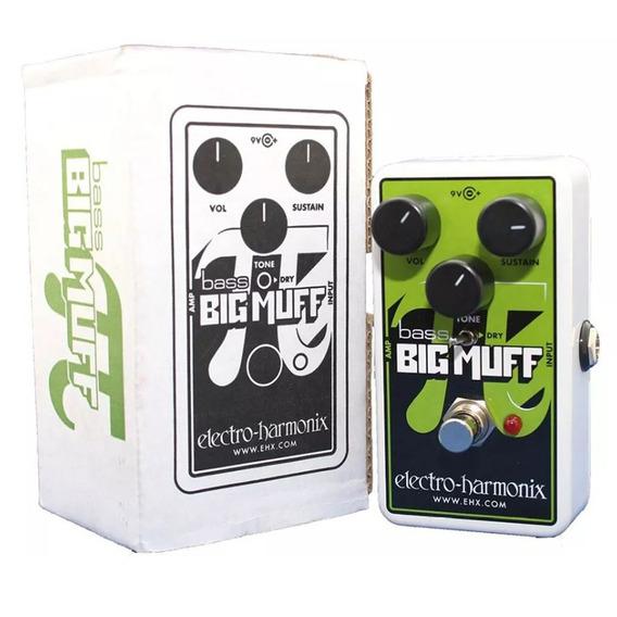 Pedal Electro Harmonix Ehx Nano Bass Big Muff Pi Nyc Usa