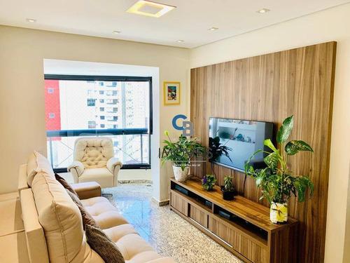 Imagem 1 de 30 de Apartamento À Venda, 74 M² Por R$ 740.000,00 - Jardim Anália Franco - São Paulo/sp - Ap7387