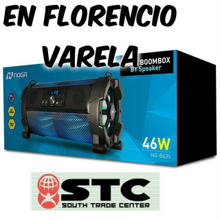 Parlante Inalambrico Bluetooth Noga Ng-b635 En F Varela