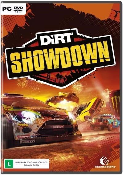Dirt Showdown - Pc Original Lacrado