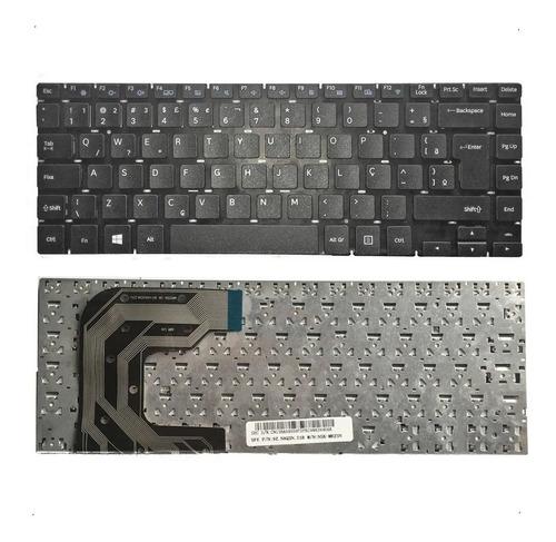 Teclado Notebook Ultrabook Samsung Np370e4k Padrão Br Com Ç
