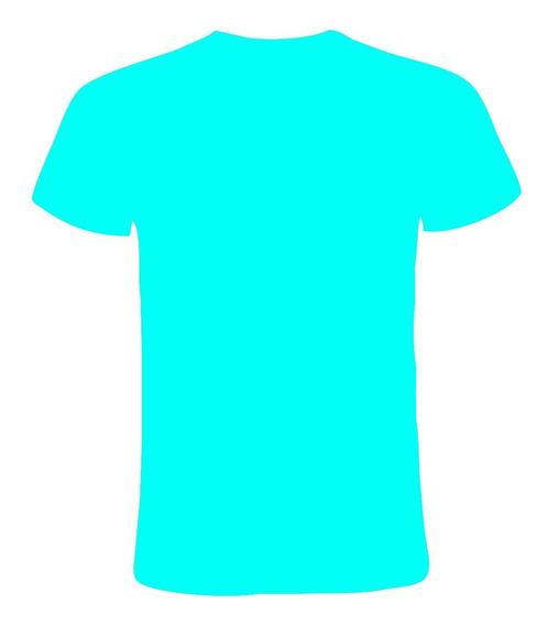 10 Remera Lisa Algodón Jersey Peinado Tapa Costura Premium!