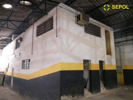 Galpão Para Alugar, 208 M² Por R$ 3.500,00/mês - Vila Pierina - São Paulo/sp - Ga0045