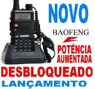Radio Baofeng Uv5r Vip Desbloqueado Configurado!