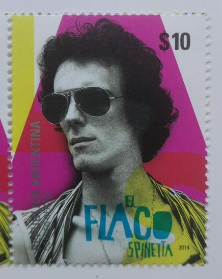 Argentina 2014. El Flaco Spinetta. Gj 4063 Mint