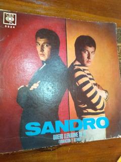 Disco De Vinilo De Sandro Quiero Llenarme De Ti