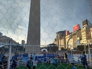 Redes De Contención 2.5 Mm-fútbol-cerramientos Canchas