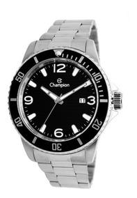 Relógio Masculino Prateado Champion Ca31515t Aprova D