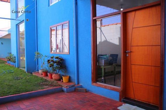 Sobrado À Venda, 300 M² Por R$ 600.000,00 - Jardim Silvania - Mogi Mirim/sp - So0076
