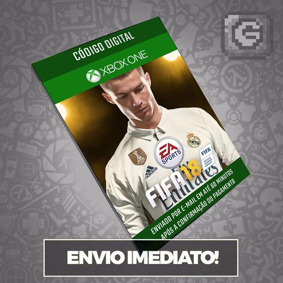 Fifa 18 Xbox One - Código 25 Dígitos - Xbox One Brasil