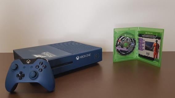 Xbox One 1tb Com Pintura Customizada Do Forza + 1 Jogo