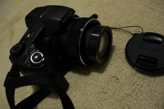Câmera Sony Hx200v Cyber-shot (semi Profissional) + Bolsa