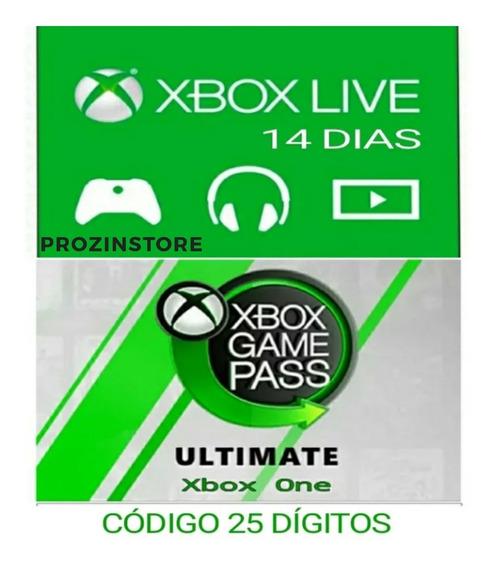 Xbox Live Ultimate Pass 14 DiasCód-25 Dígitos