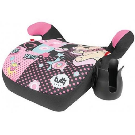 Assento Supreme Rosa Elevação Infantil P/ Carro 15 A 36 Kg