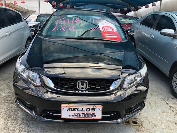 Honda Civic Lxr 2.0 Flex Automático Único Dono