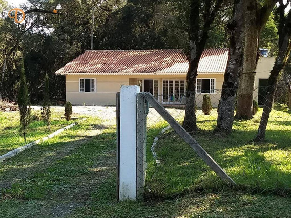 Chácara Com 3 Dormitórios À Venda, 2859 M² Por R$ 260.000,00 - Centro - Tijucas Do Sul/pr - Ch0004