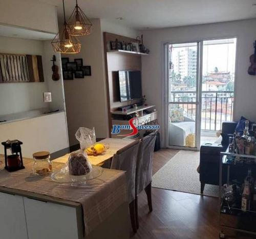 Apartamento Com 3 Dormitórios À Venda, 62 M² Por R$ 420.000,00 - Vila Formosa - São Paulo/sp - Ap3091