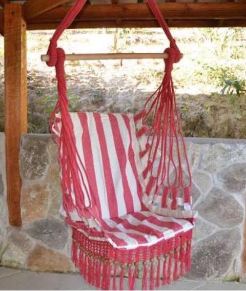 Rede Cadeira De Balanço Para Teto (rede De Dormir Descanso)