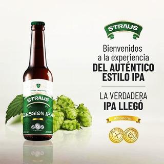 Cerveza Sin Gluten Straus Ipa Sin Tacc Pack X 6