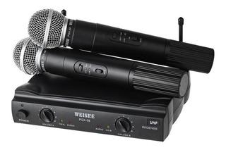 Microfones Sem Fio - Weisre Pgx-51