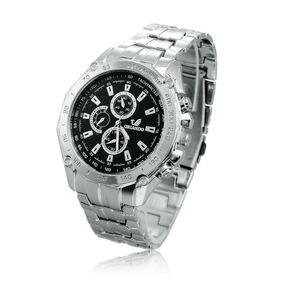 Relógio Masculino Aço Inox Executivo Social Oferta Especial