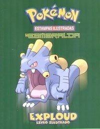 Livro Ilustrado Pokémon Esmeralda - Frete Gratis