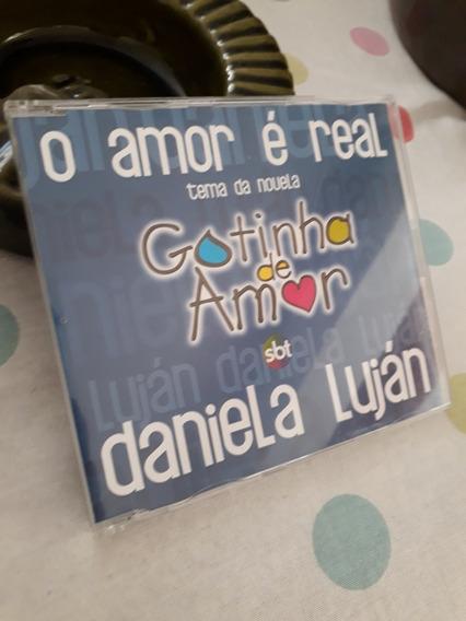 Cd Trilha Sonora Novela Gotinha De Amor Single Promo Sbt !