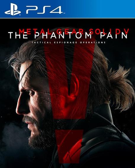 Metal Gear Solid V The Phantom Pain Ps4 Promoção