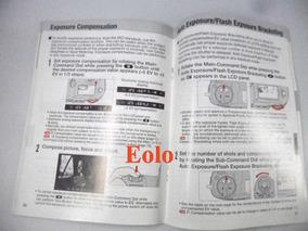 Nikon F 100 Manual De Instruções Original Em Inglês &