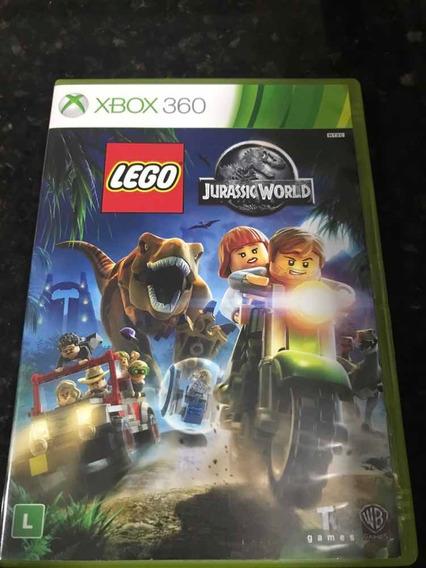 Jogo Xbox 360 Lego Jurassic World Original Mídia Física