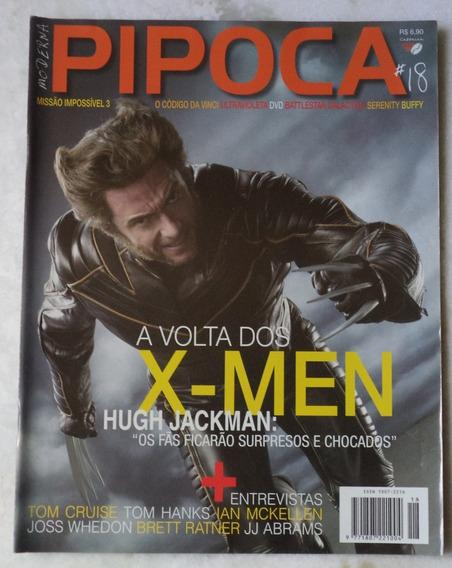 Revista Cinema Pipoca Moderna Nº 18 Capa X-men