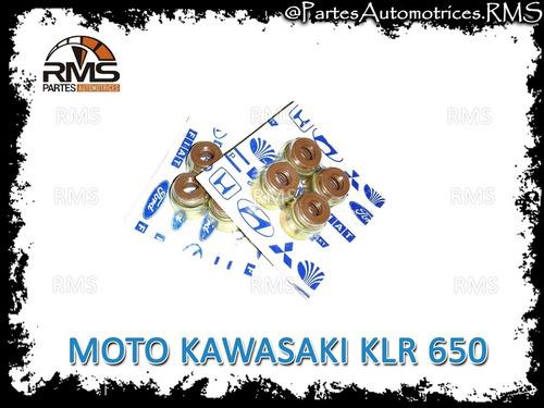 Gomas Valvula Moto Klr 650 Kawasaki