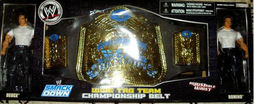 Imagen 1 de 1 de Cinturon Wwe Tag Team Championship Belt Marca Wwe