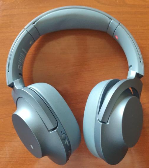 Sony Wh-h900n Bluetooth Noise Canceling Headphone Cinza