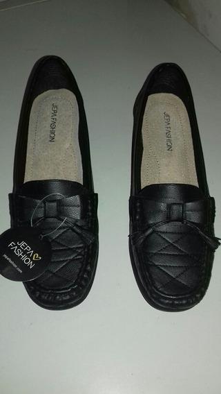 Zapato Para Damas Talla 41 / 10 Negro