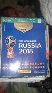 Albúm Panini Fifa World Cup Russia 2018 Incompleto Y Vacio