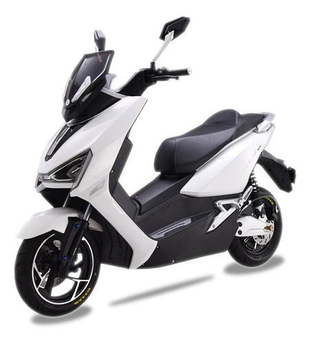 Moto Eléctrica Aima Bosch T3 Litio Blanca