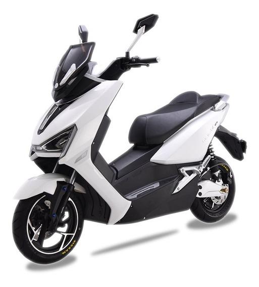 Moto Electrica Inteligente Aima T3 1800w Blanca