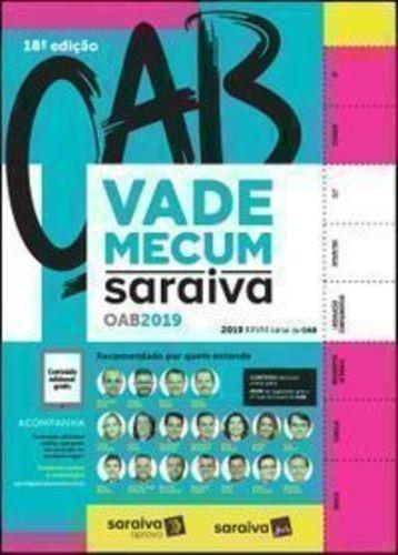 Livro Vade Mecum Saraiva Oab 2019 Saraiva