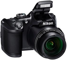 Nikon B500 Coolpix B500 16mp 40x Full Hd + 16gb + Bolso
