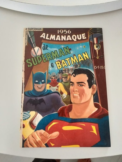 Almanaque Super Man Batman 1956 (frete Gratis)