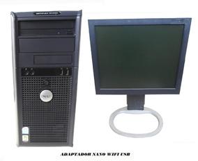 Computador Dell Gx620 Dual Core 4g 120gb Ssd / Mon 15