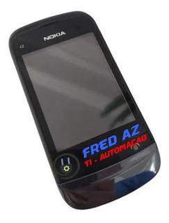 Celular Nokia C2-02 Defeito - Para Retirada De Peças