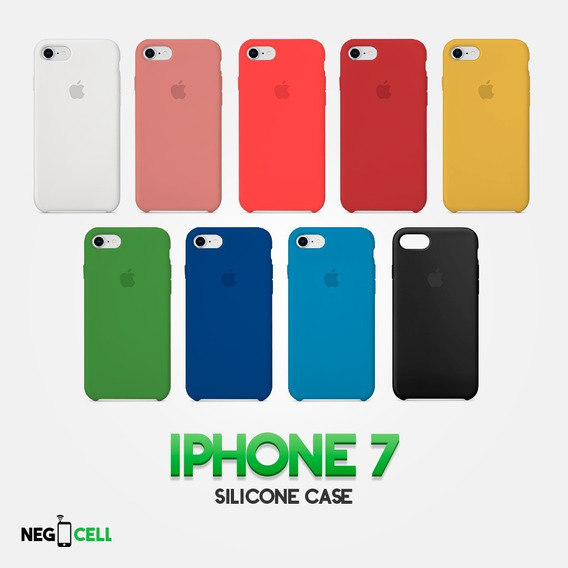 Funda De Silicón Case Apple Original iPhone 7/8 Y 7/8 Plus