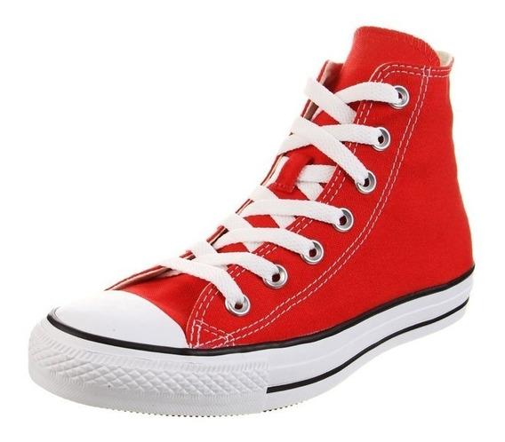 Bota Converse All Star Hi 156998 Rojo Dep
